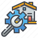 gear, home, house, maintenance, renovation, repair, wrench
