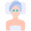 beauty, face, female, health, mask, spa, treatment