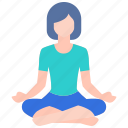 exercise, female, health, healthy, pose, relaxation, yoga