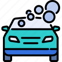 carwash, clean, cleaner, shiny, soap, transport, vehicle