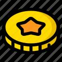 coin, donate, donation, ieo, token icon