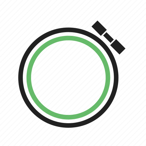circular, embroidery, frame, hoop, plastic, round, sewing icon