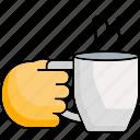 hot, coffee, drink, tea, mug