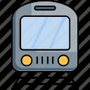 train, tram, railway, travel, travelling
