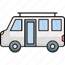 .svg, travel, van, transport, vacation
