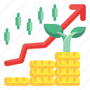 profit, fund, growth, trading, graph, investment, business