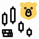 bearish, business, investment, market, money, stock, trade