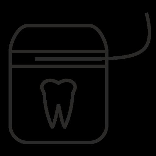 dental, doctor, floss, health, healthcare, medicine, stomatology icon