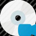 camera, disk, drive, storage, video icon