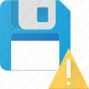 alert, disk, drive, floppy, save, storage