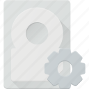 disk, drive, settings, storage icon