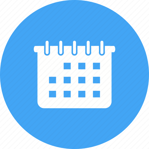 business, calendar, calender, diary, plan, planner, schedule icon