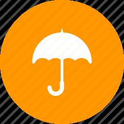 care, help, logistics, sticker, support, transport, umbrella icon