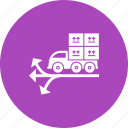 cargo, container, delivery, industry, port, ship, shipping icon