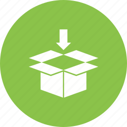 box, delivery, logistics, package, packaging, set, shipping icon