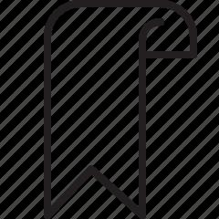 bookmark, favorite, price, tag icon