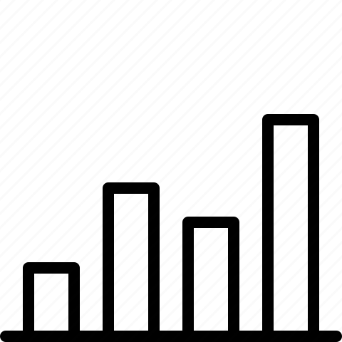 bar chart, chart, diagram, graph, report icon