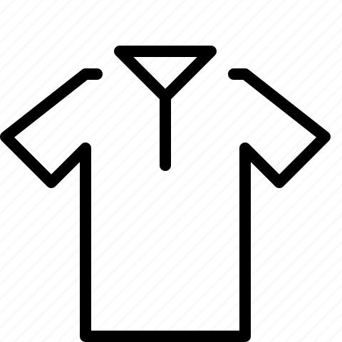 polo, shirt icon