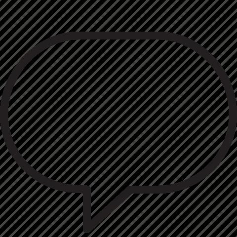 chat, talk icon