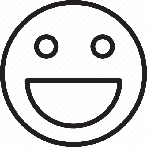 emoticon, happy, smiley icon