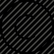 copyright icon