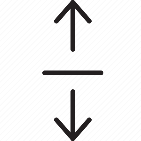 line, scale, vertical icon
