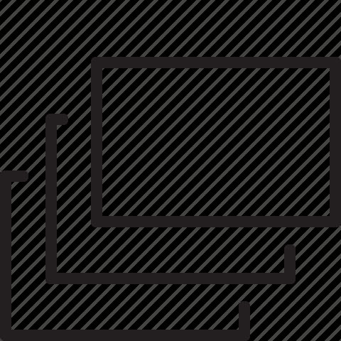 design, graphic, layers, line icon
