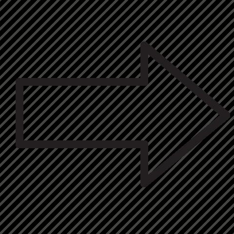 envelope, line, mail, send icon
