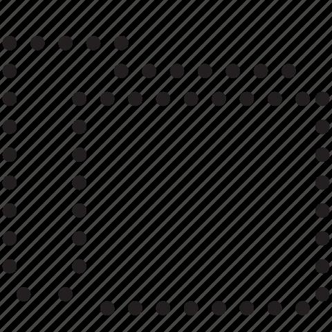 folder, invisible, line, new icon