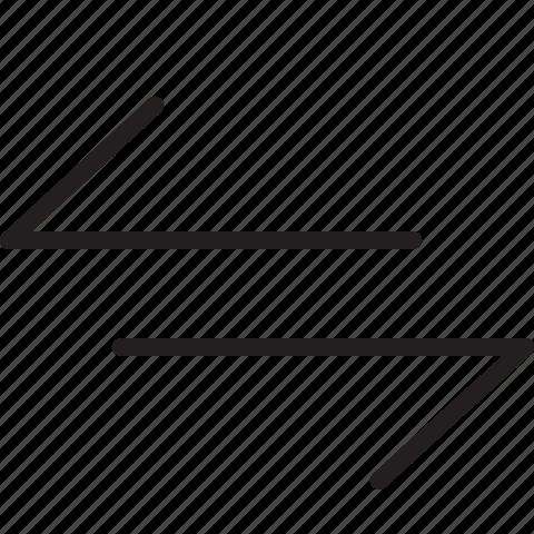 line, transfer icon