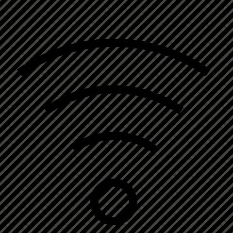 internet, line, network, signal, wifi, wireless icon