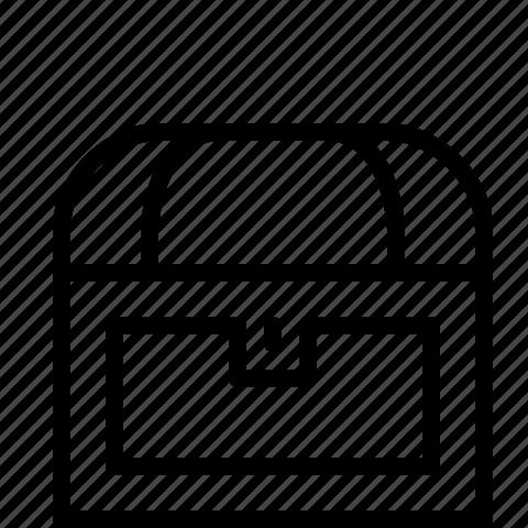 chest, coffin icon
