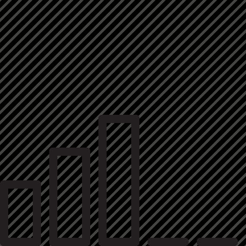 signal, signal strength icon