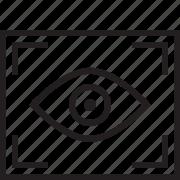 eye, photography icon