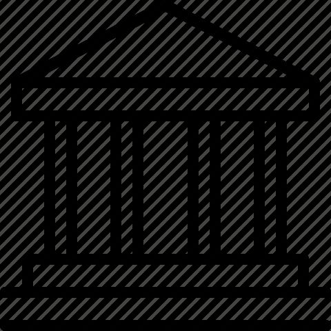 building, temple icon
