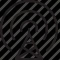 radio, antenna, wave, communication