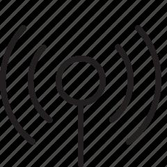 antenna, gsm, radio, signal, wi-fi, wireless icon