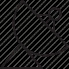 antenna, communication, dish, satellite icon