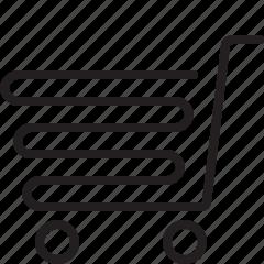 cart, e-commerce, shopping cart icon
