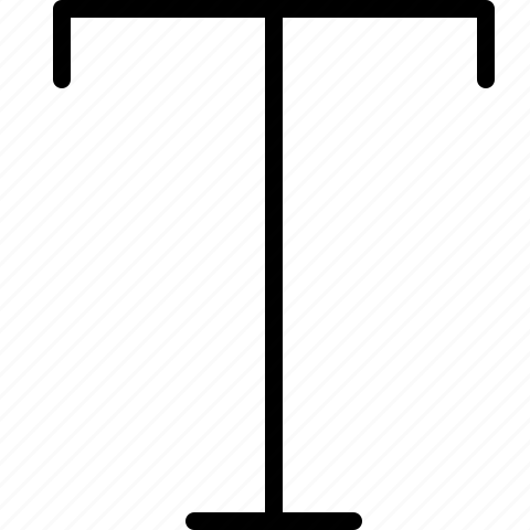 letter, t icon