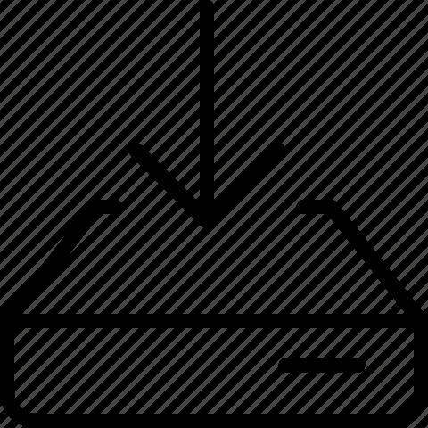download, harddisk icon