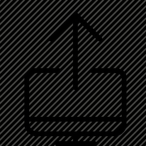 screen, share icon