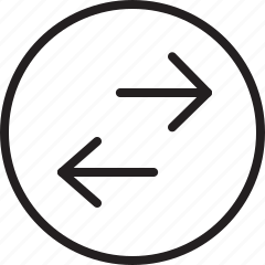 arrows, transfer icon