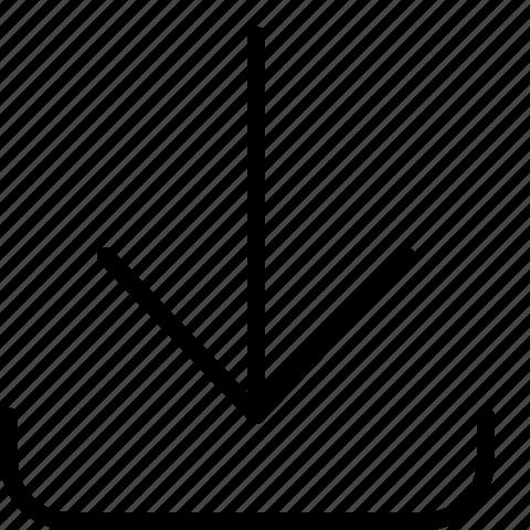 Download, arrow icon