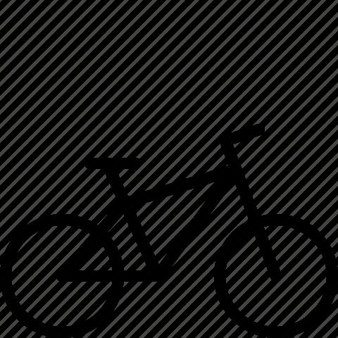 bike, mountain bike icon