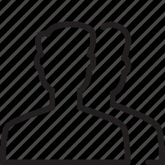 locked, user icon