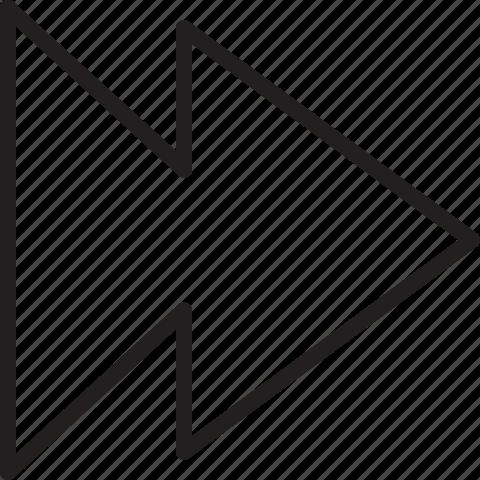 arrow, arrows, forward, right icon