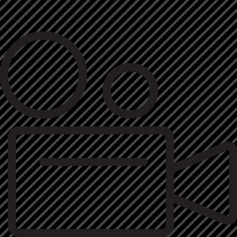 video, video camera icon