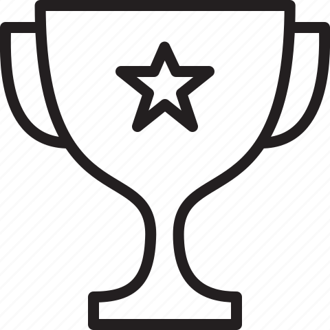champion, prize icon