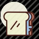 fastfood, meal, pbj, restaurant icon